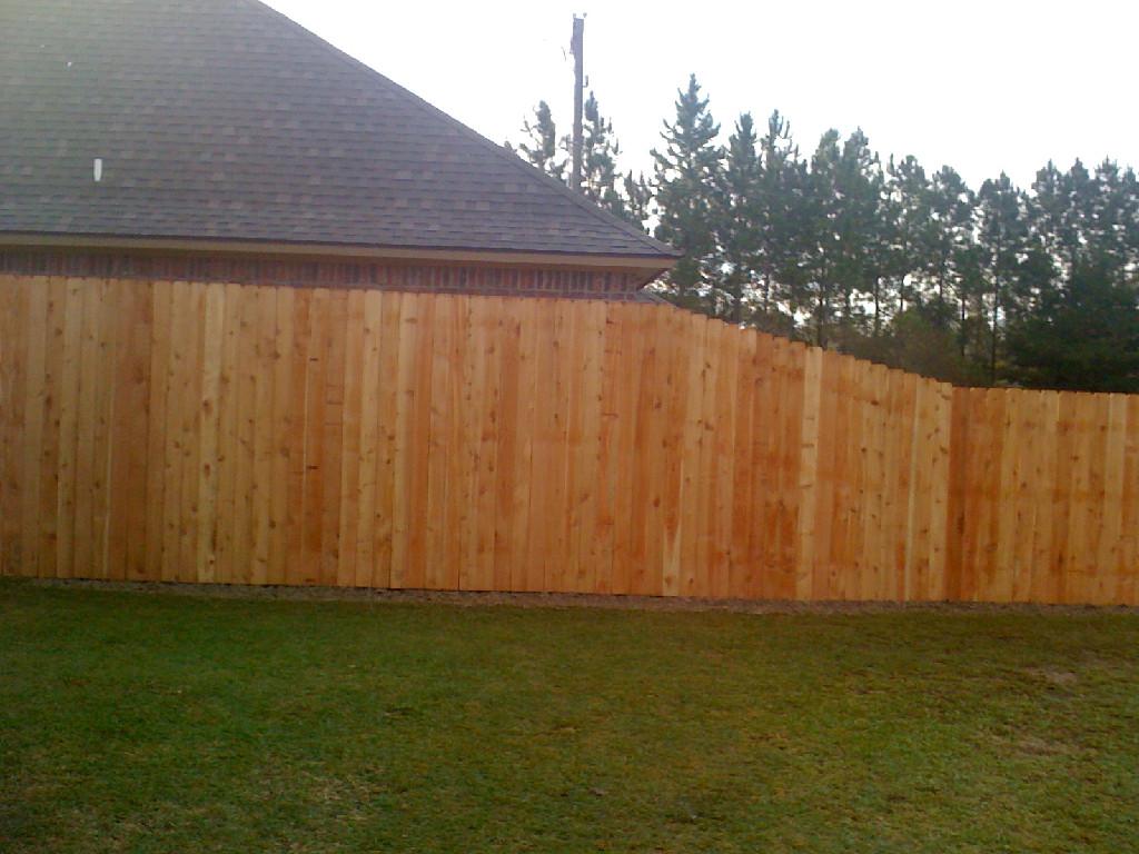 Wood Fences Amp Gates Lafayette Fence Lake Charles Fence